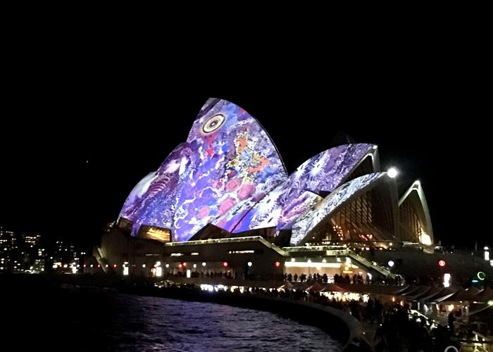 VIVID SYDNEY 2017 シドニー最大のライトアップイベント