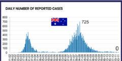 オーストラリアの新規感染者数と入国再開へのカウントダウン