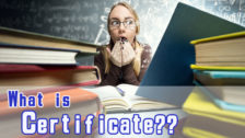サーティフィケート(Certificate)とはいったい何?